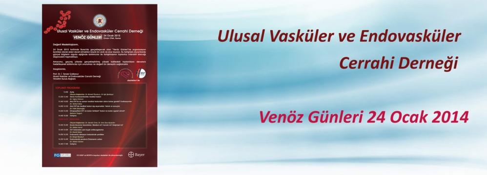 Ulusal Vasküler ve Endovasküler Cerrahi Derneği Venöz Günleri