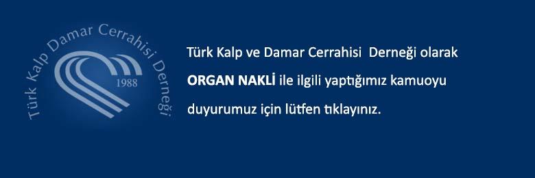 Türk Kalp ve Damar Cerrahisi Derneği Basın Duyurusu, 05/07/2017