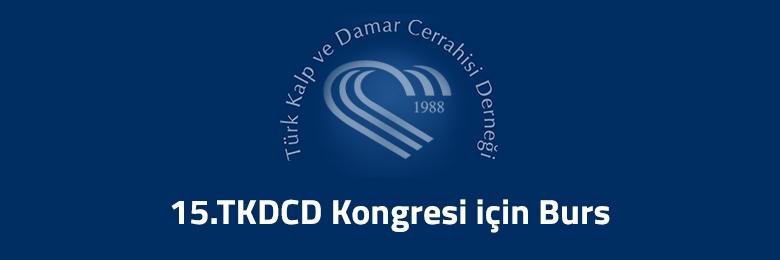 15.TKDCD Kongresi için Burs