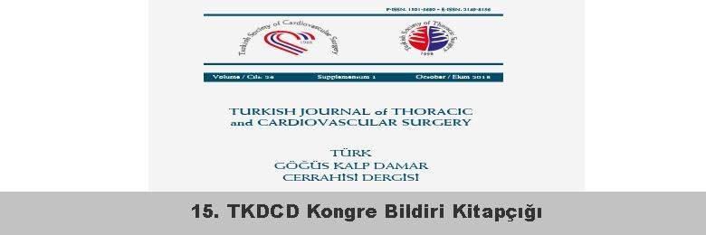 15. TKDCD Kongre Bildiri Kitapçığı