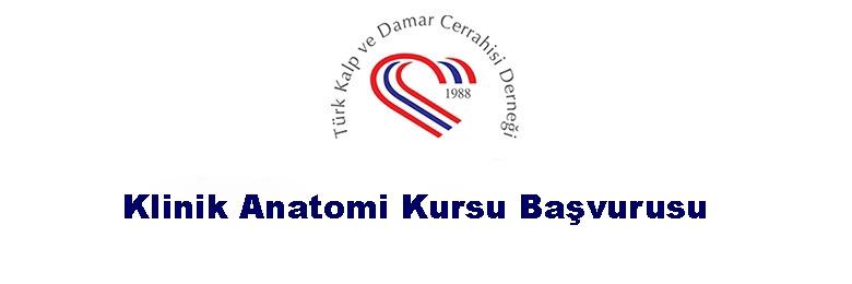 TKDCD Klinik Anatomi Kursu