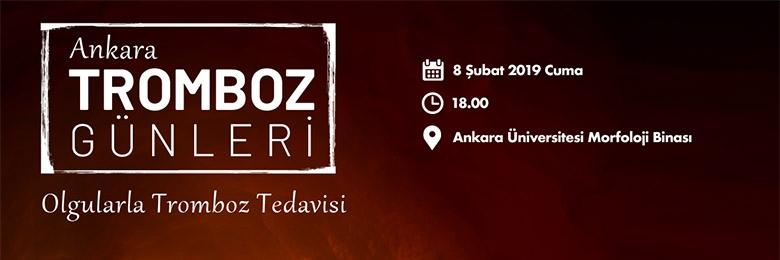 Tromboz Günleri - 8 Şubat 2019 Ankara