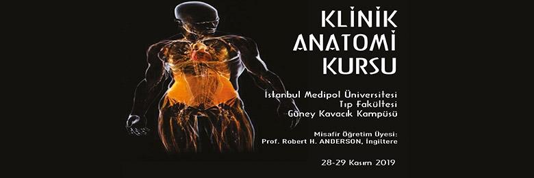 Klinik Anatomi Kursu İstanbul