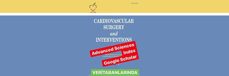 Cardiovascular Surgery and Interventions Dergimiz Hakkında