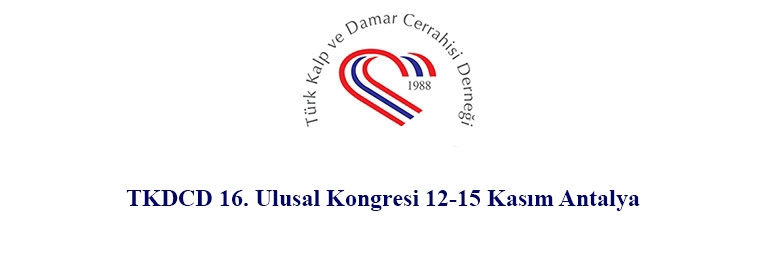 TKDCD 16. Ulusal Kongresi 12-15 Kasım Antalya