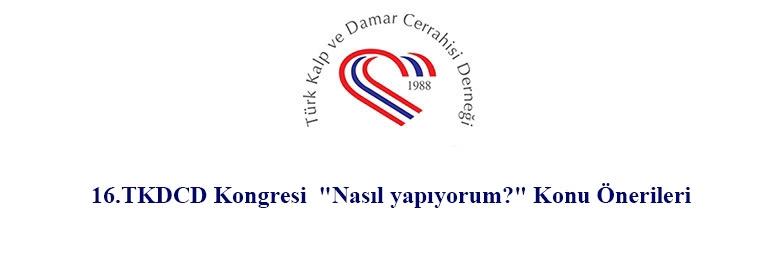 16.TKDCD Kongresi