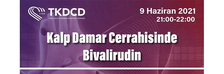 TKDCD WEBİNAR SERİLERİ - 9 HAZİRAN