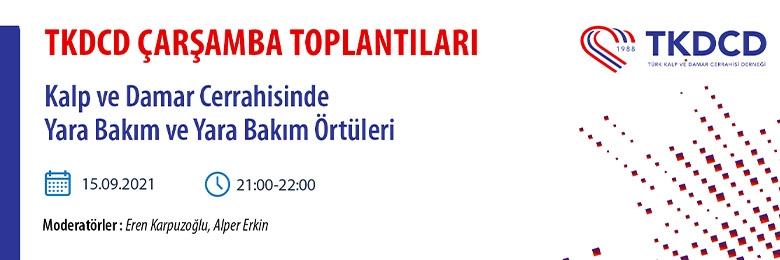 TKDCD WEBİNAR SERİLERİ - 15 EYLÜL